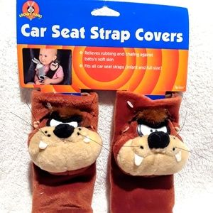 Vintage Looney tunes car seat strap covers